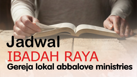 Jadwal Ibadah Raya