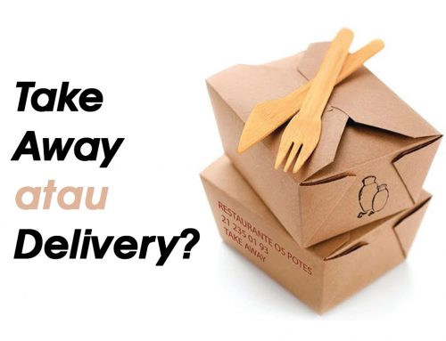 Take Away atau Delivery?
